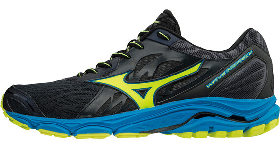 Mizuno Wave Inspire 14 Running Shoes Men ombre blue/safety yellow/diva blue